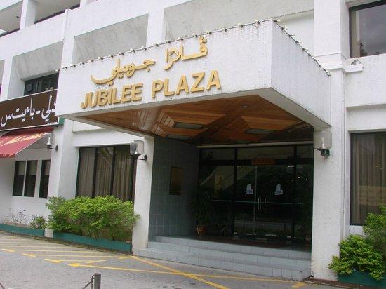Jubilee Hotel: hotel entrance