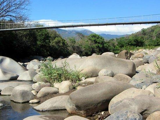 Caldera Hot Springs: the river