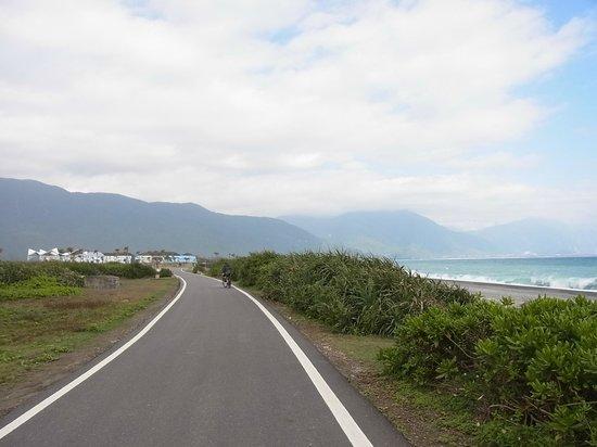 Chishingtan Scenic Area:                   サイクリングロード