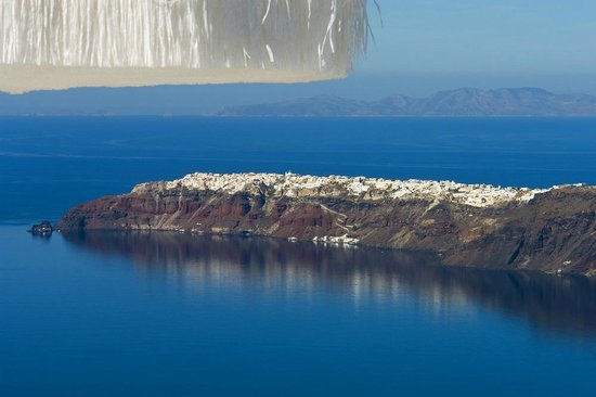 White Santorini: View from the hotel