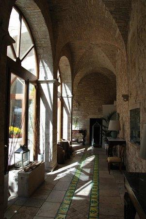 San Martin Hotel : cour interieur