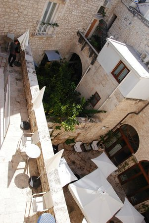 San Martin Hotel : succession de terrasses