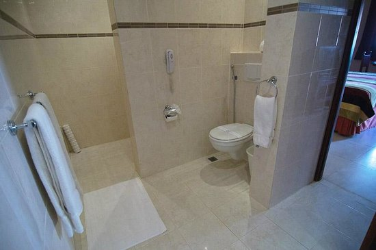 Boutique Hotel Palacio Bathroom (shower has no door just a small lip on & Bathroom (shower has no door just a small lip on floor) - Picture ...