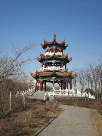 Xinzheng, China:                                     Pagoda in yhe park