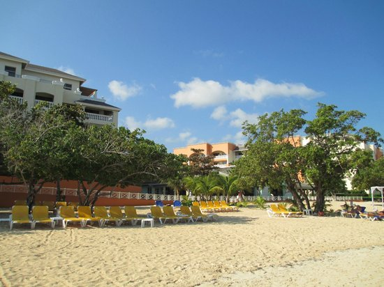 Iberostar Rose Hall Suites:                   shot from the beach