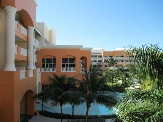 Iberostar Rose Hall Suites:                   view of lobby from our balcony