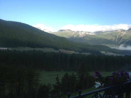 Grand Hotel Kronenhof:                   A room with a view