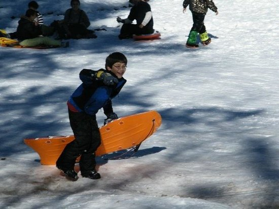 Big Bear Frontier:                   Good times for the kids