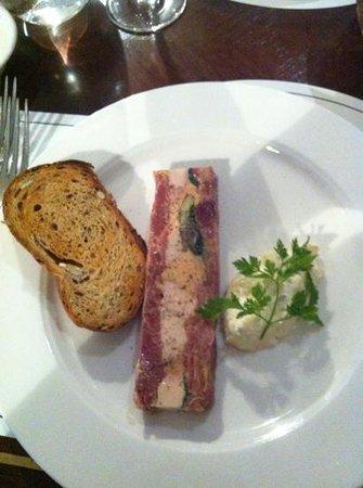 Galvin Brasserie de Luxe:                   Terrine