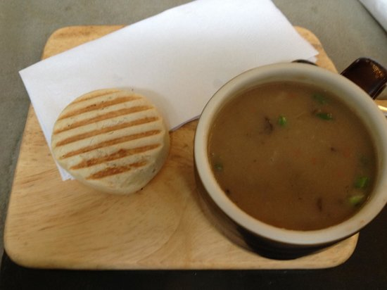 Canteen 900:                   Mushroom soup