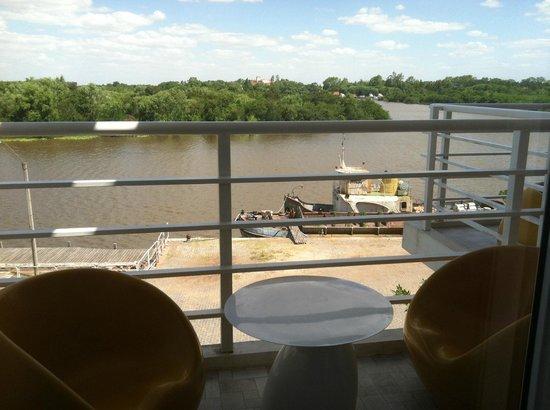 Los Muelles Boutique Hotel:                                     La vista desde el balcón
