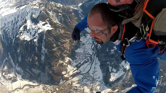 Skydive Interlaken: View