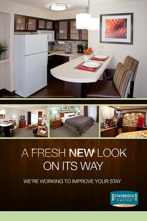 Staybridge Suites Dallas-Las Colinas Area: Fresh New Look on its way!