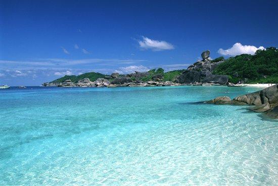 Similan Islands National Park:                   Donald Duck Bay - Similan #8