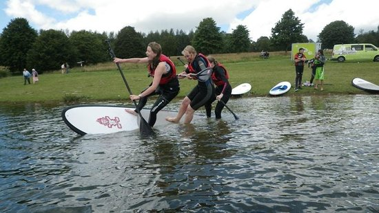 Active Adventure South West: SUP paddleboarding fun