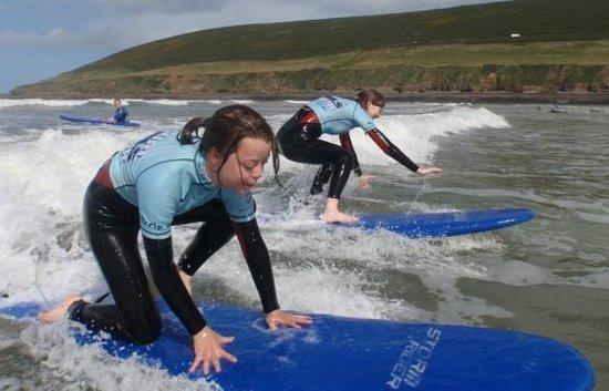 Active Adventure South West: Surf fun