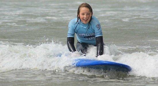 Active Adventure South West: Girl Surfing North Devon