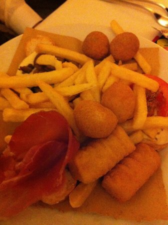 La Smorfia:                   misto fritto