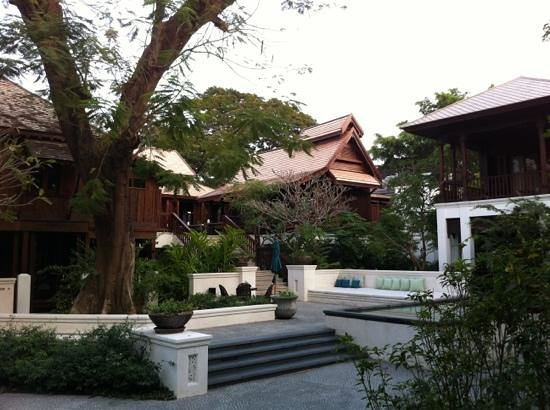 137 Pillars House Chiang Mai:                                     teak house as restaurant