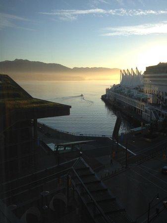 Fairmont Pacific Rim:                   harbor room view