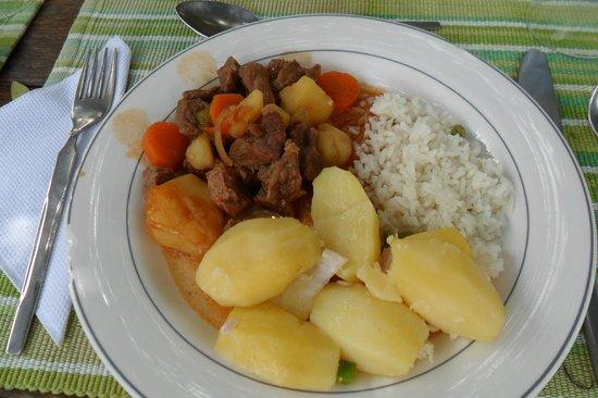 Ndololo Camp:                   il mio piatto