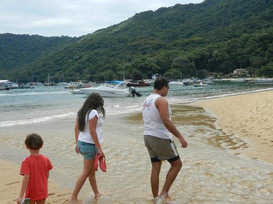 Tropical Forest:                   going to abraãozinho beach