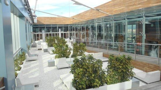 Novotel Barcelona City:                   Terraço
