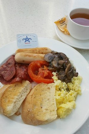 ANSA Kuala Lumpur:                   The poor breakfast included in the room rate