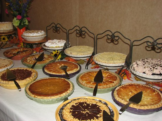 The Gathering Place: Our Pie Assortment.