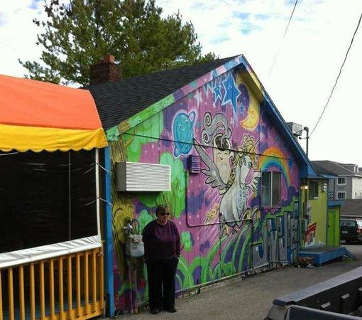Java Joe's Cafe:                   colorful Java Joes