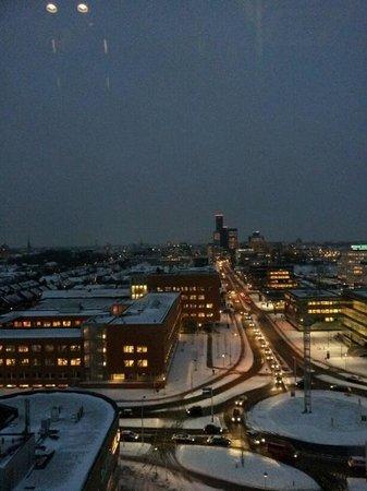 Fosk:                   Uitzicht met sneeuw