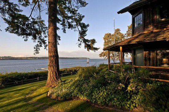 The Captain Whidbey Inn: Our waterfront property sits on the shores of beautiful Penn Cove.