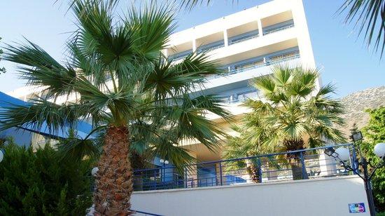 Royal Belvedere: Unser Hotel und Balkon
