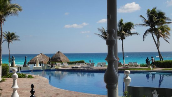 Paradisus Cancun:                   Ocean view