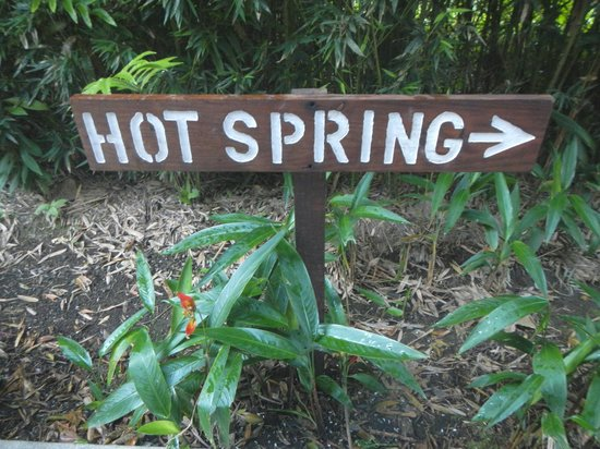 Hotel El Silencio del Campo :                   Heading to the hot springs!