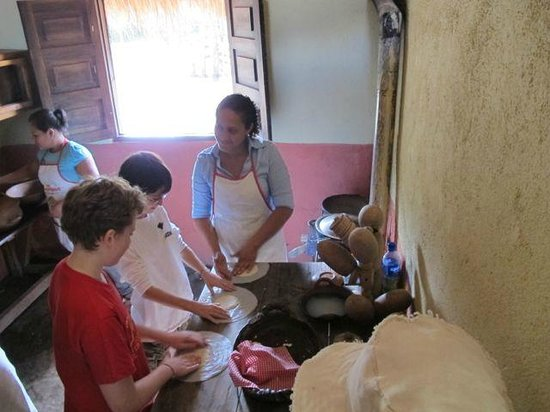 Morgan's Rock Hacienda and Ecolodge: Learning to Make Tortillas