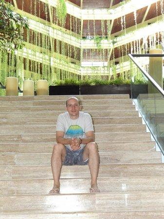 Paradisus Cancun: Bajada a los restaurantes y a la Playa