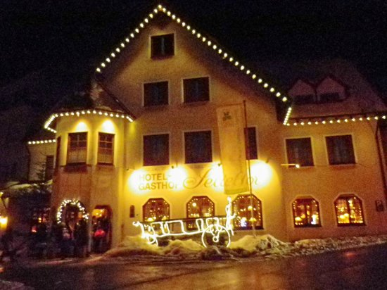 Hotel-Gasthof am Selteltor :                   la struttura di sera