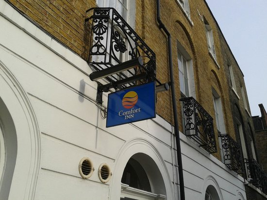 Comfort Inn Kings Cross: Aussenansicht