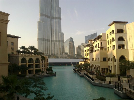 Palace Downtown:                                     view of burj khalifa