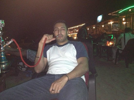 Orritel Village Square:                   midnight hookah at Anjuna beach