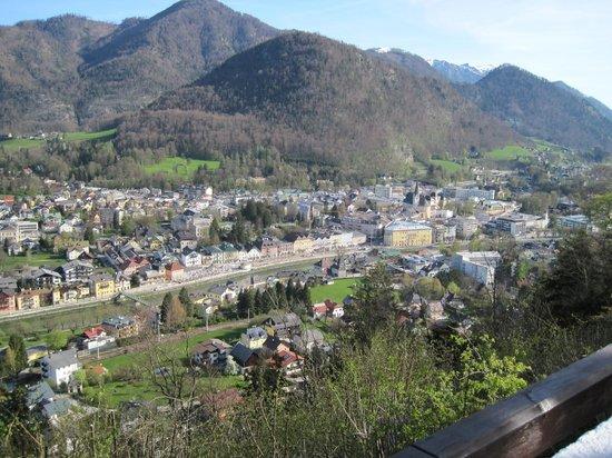 Siriuskogl: Aussicht über Bad Ischl