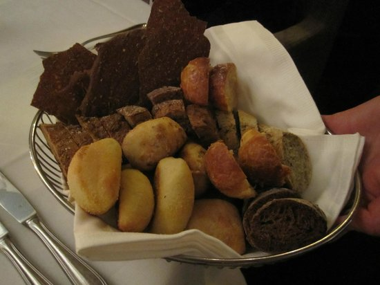 Thornstroms Kok : Bread basked - impressive choice