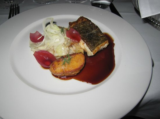 Thornstrooms Kok: The fantastic cod for main course in the Scandinavian menu