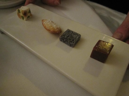 Thörnströms Kök: Coffee Sweets.These served to the one at the table who couldn't eat dessert but appreciated thes
