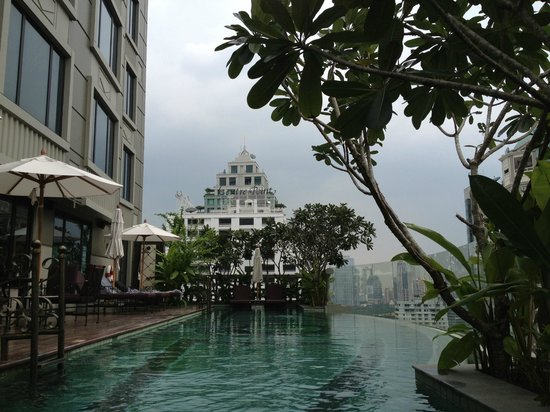 Hotel Muse Bangkok Langsuan - MGallery Collection:                                     Pool View