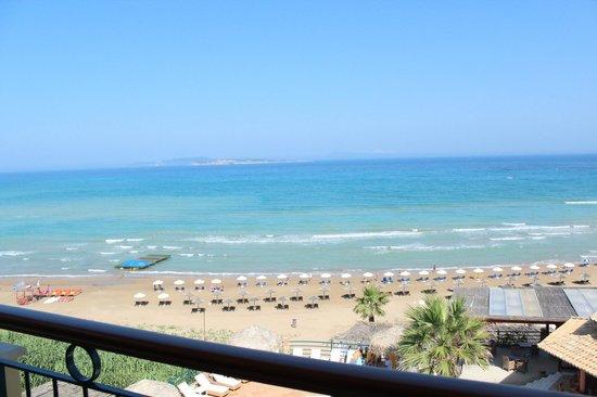 Delfino Blu Boutique Hotel:                   La plage