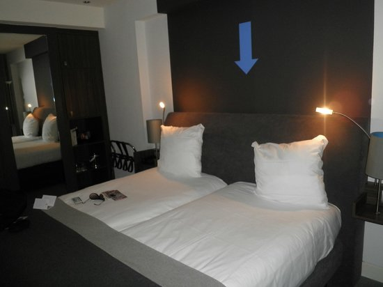 Hampshire Hotel - Rembrandt Square Amsterdam:                   camera da letto