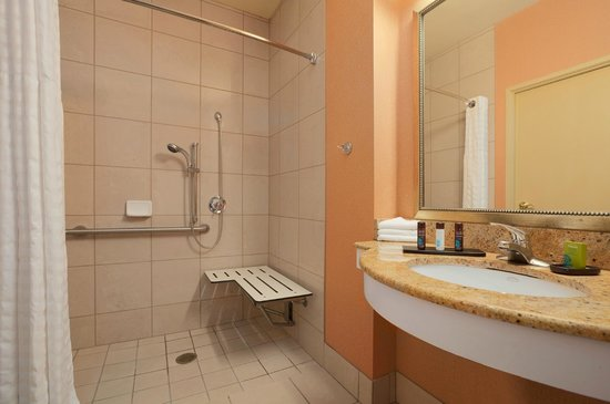 Embassy Suites by Hilton Hotel San Rafael - Marin County / Conference Center: Accessible Bath