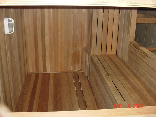 The Skagit Casino Resort:                                     Swedish (dry) sauna